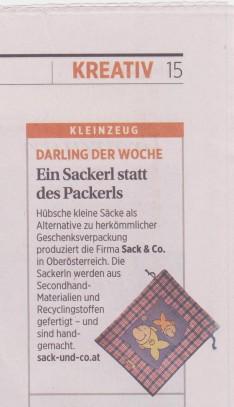Sack und Co in der Presse