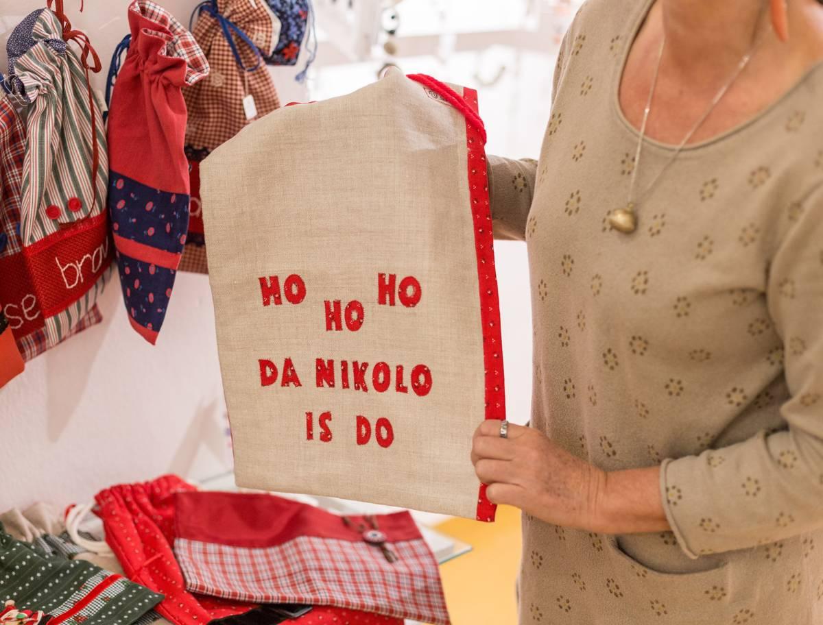 Sackerl für Nikolaus